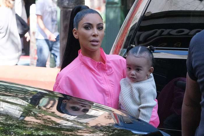 KUWK: Kim Kardashian Shares Super Cute Video Of Baby Chicago Walking In Her Mom's Heels