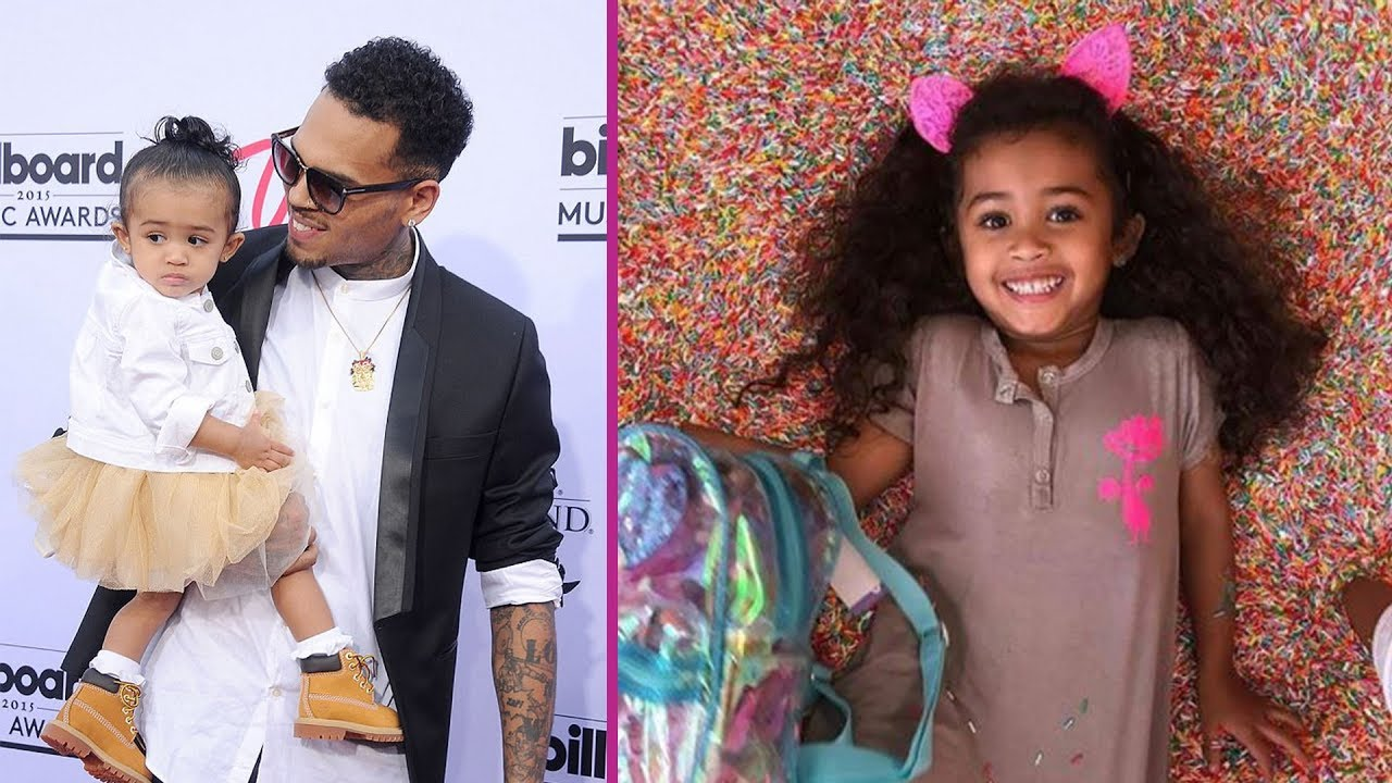 """chris-browns-daughter-royalty-brown-enjoys-a-day-at-the-kiddy-spa-some-people-are-upset-shes-wearing-a-gucci-t-shirt-see-the-pic-video"""