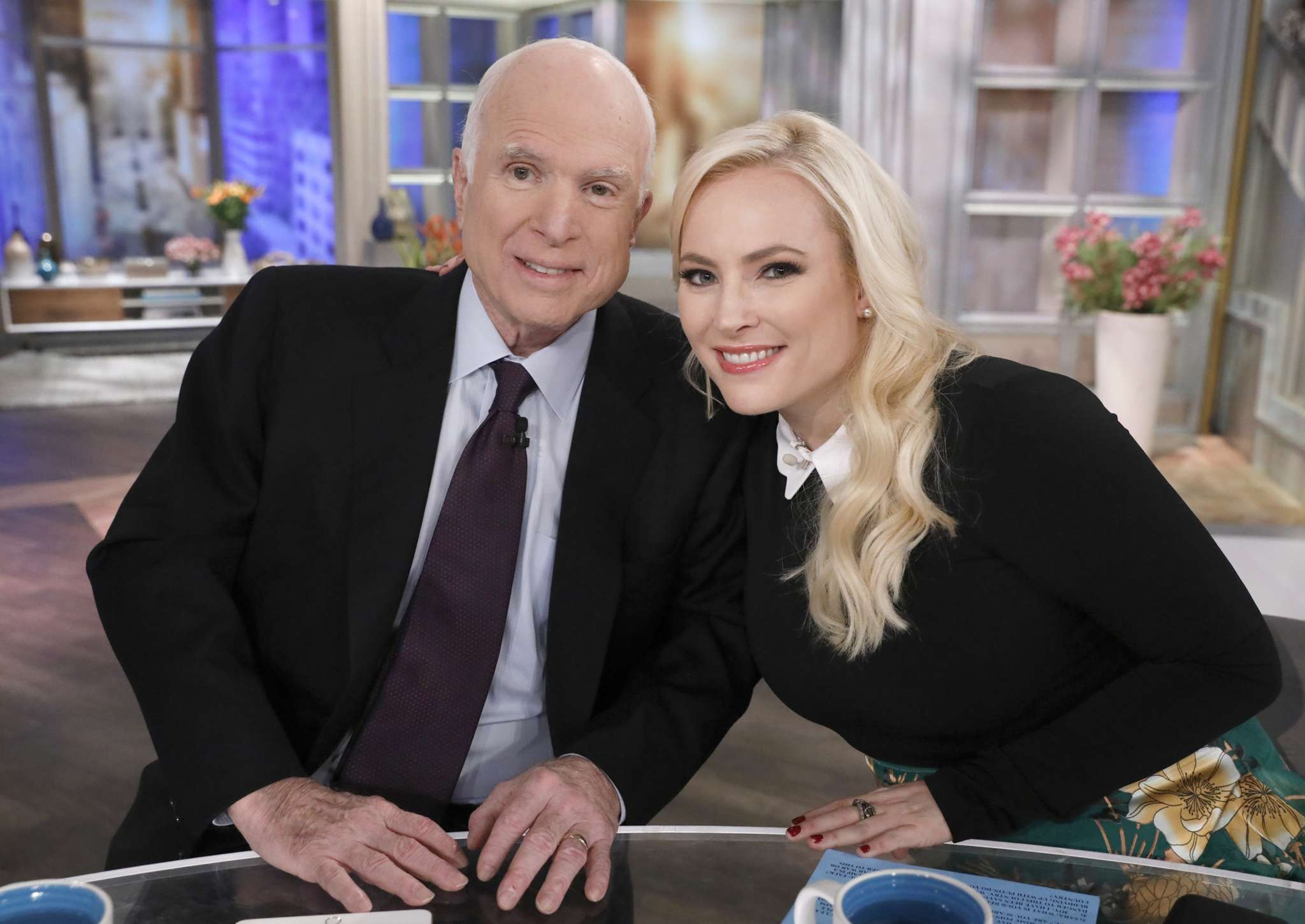 Meghan McCain blasts Trump after he attacks her father on Twitter