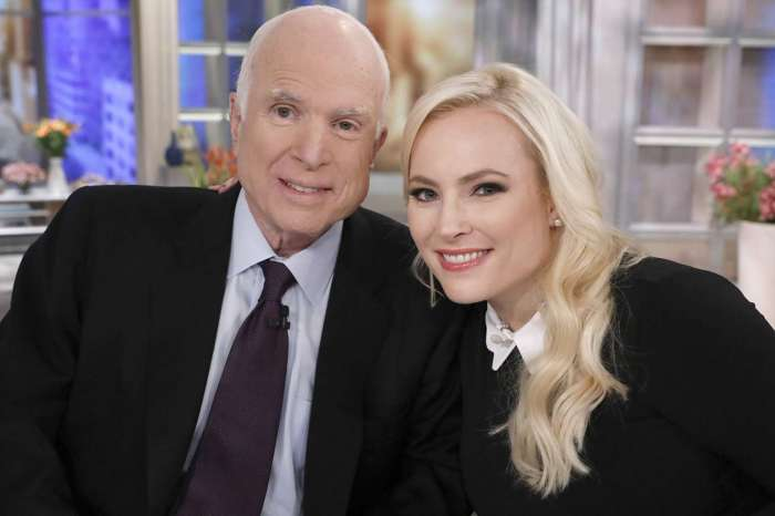 Meghan McCain Slams Author Who Blamed Dad John McCain's 'Ghost' For America's Immigration Problems