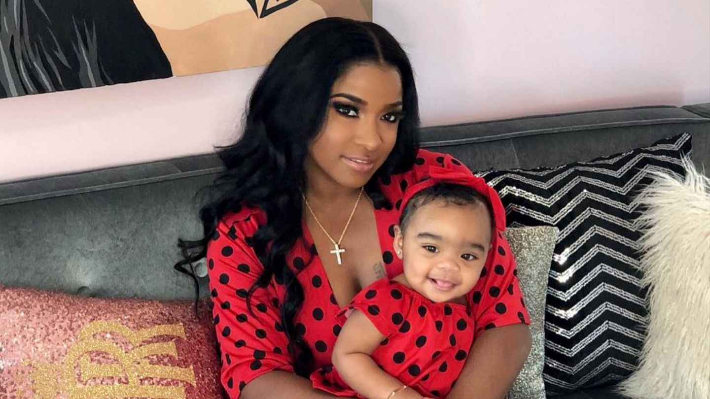 Toya Wright Glows With Happiness In Her Latest Photo