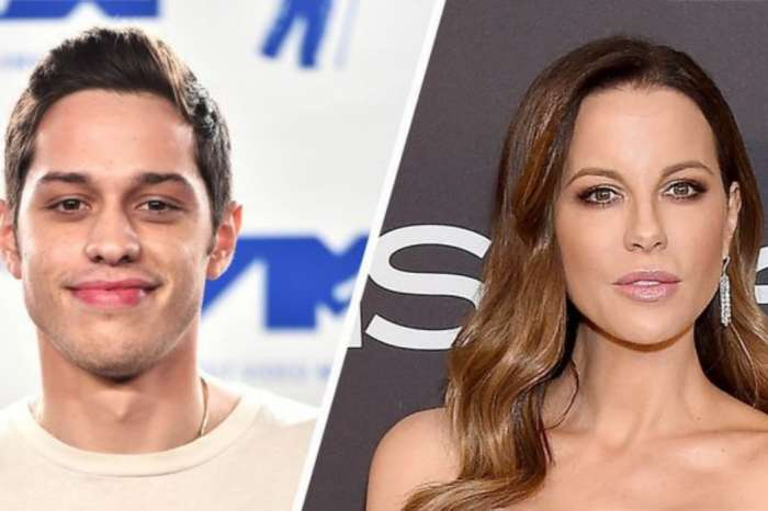 Pete Davidson And Kate Beckinsale Seem Inseparable As Pair Lovingly Gaze At Each Other At Hockey Game