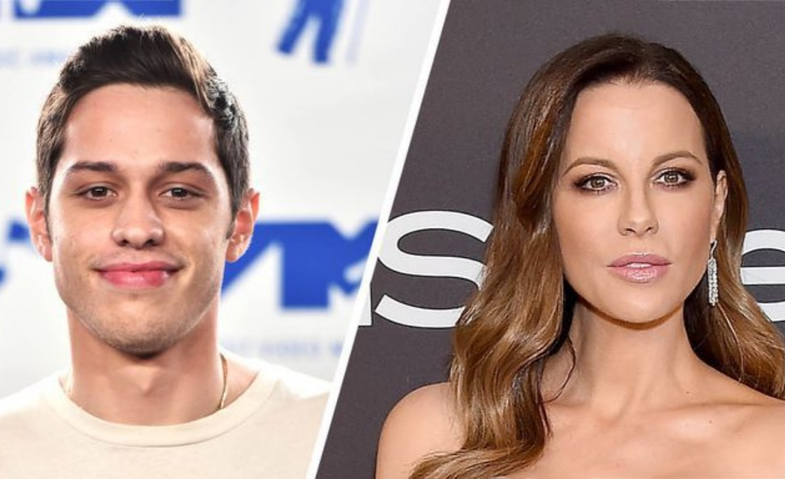 Pete Davidson And Kate Beckinsale Kiss With Tongue, So It's Official