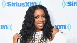 Porsha Williams Puts Massive Baby Bump On Display In Pink Bathing Suit
