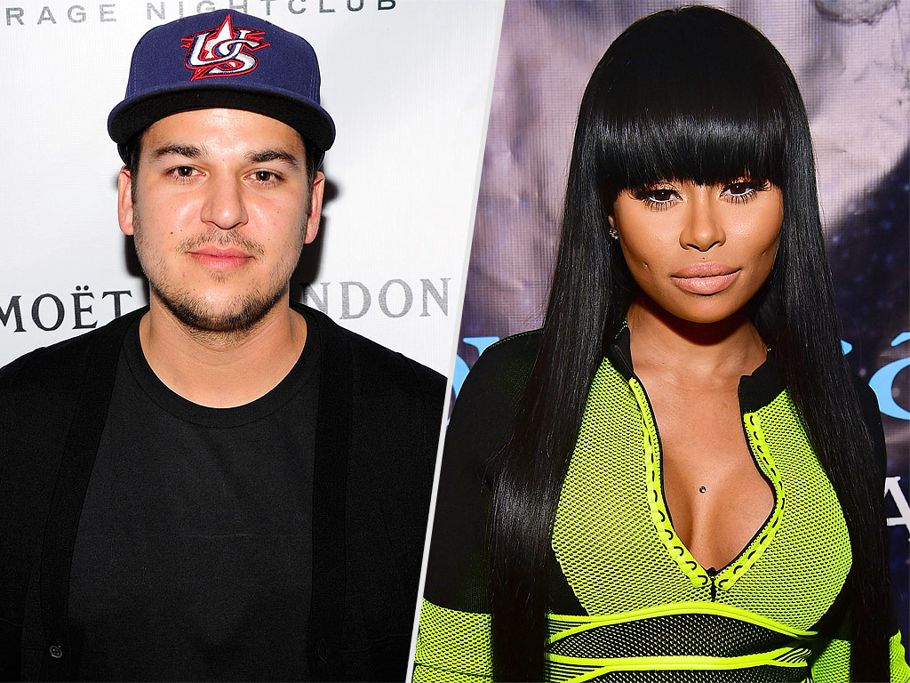 Blac Chyna Showed Rob Kardashian Love For His Birthday And Their Fans Are Hoping For The Best