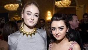 Sophie Turner Admits She And Maisie Williams Are A 'Nightmare To Work With' On The Set Of Game Of Thrones