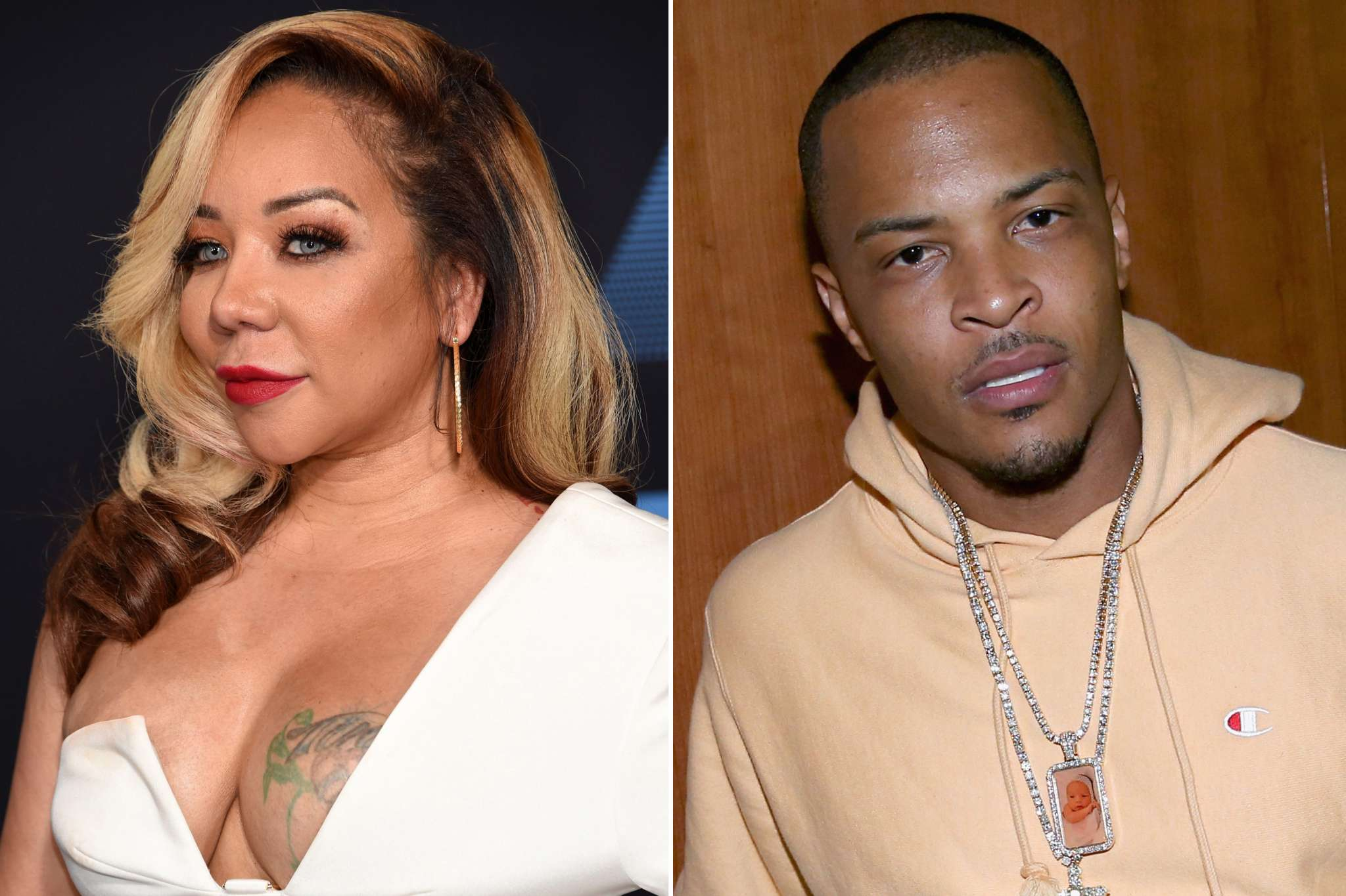 T.I. Shares The Cutest Pic With Heiress Harris After Slamming Haters Who Disrespected Tiny Harris