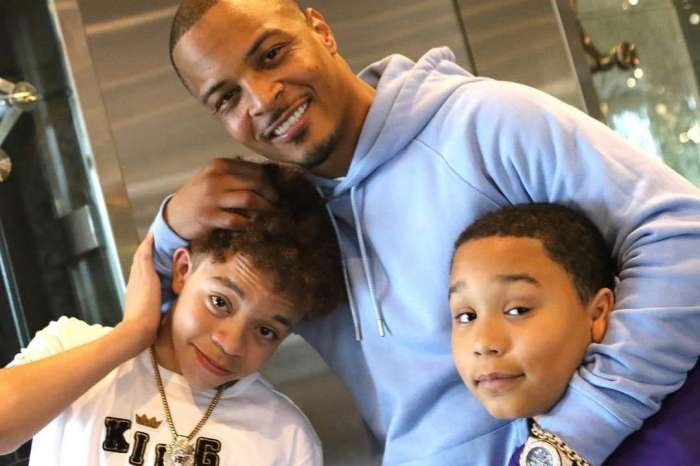 T.I. Gushes Over Major Harris - Check Out His Latest Photo With His And Tiny Harris' Son