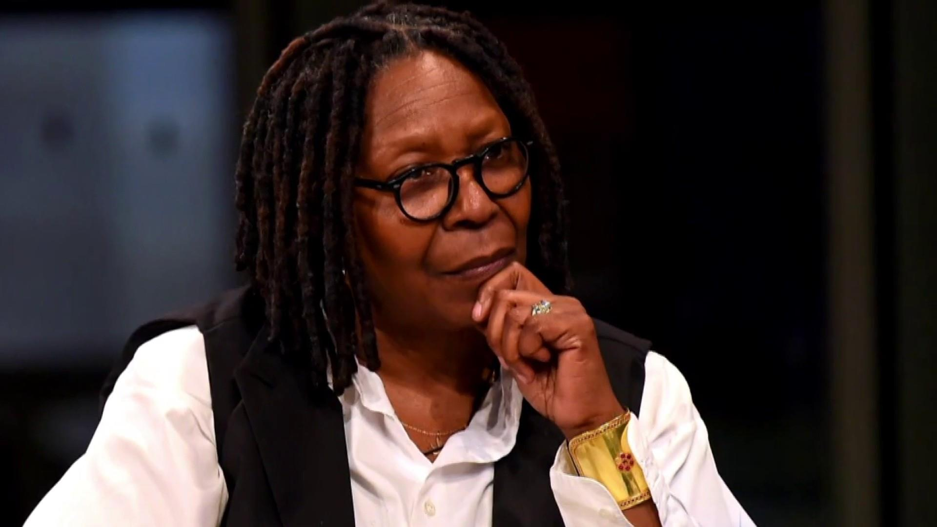 Whoopi Goldberg makes surprise visit to The View after severe pneumonia battle