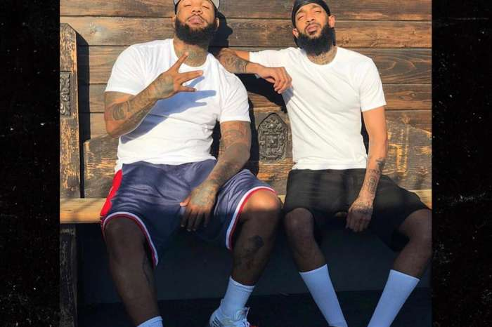 The Game Asks For Peace And Gets A Tattoo Of Nipsey Hussle On His Chest - See The Video