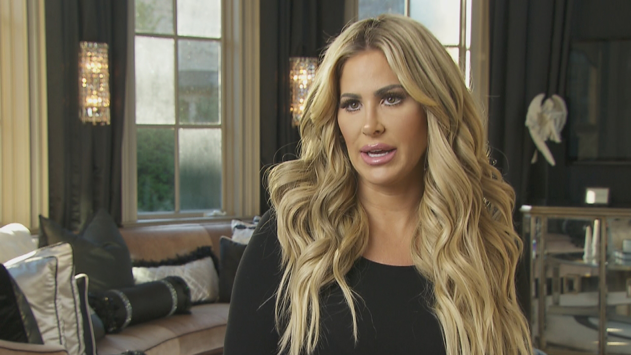 Kim Zolciak Sparks Confusion Among Fans About The Color Of Her Skin After Posting A Racy Photo