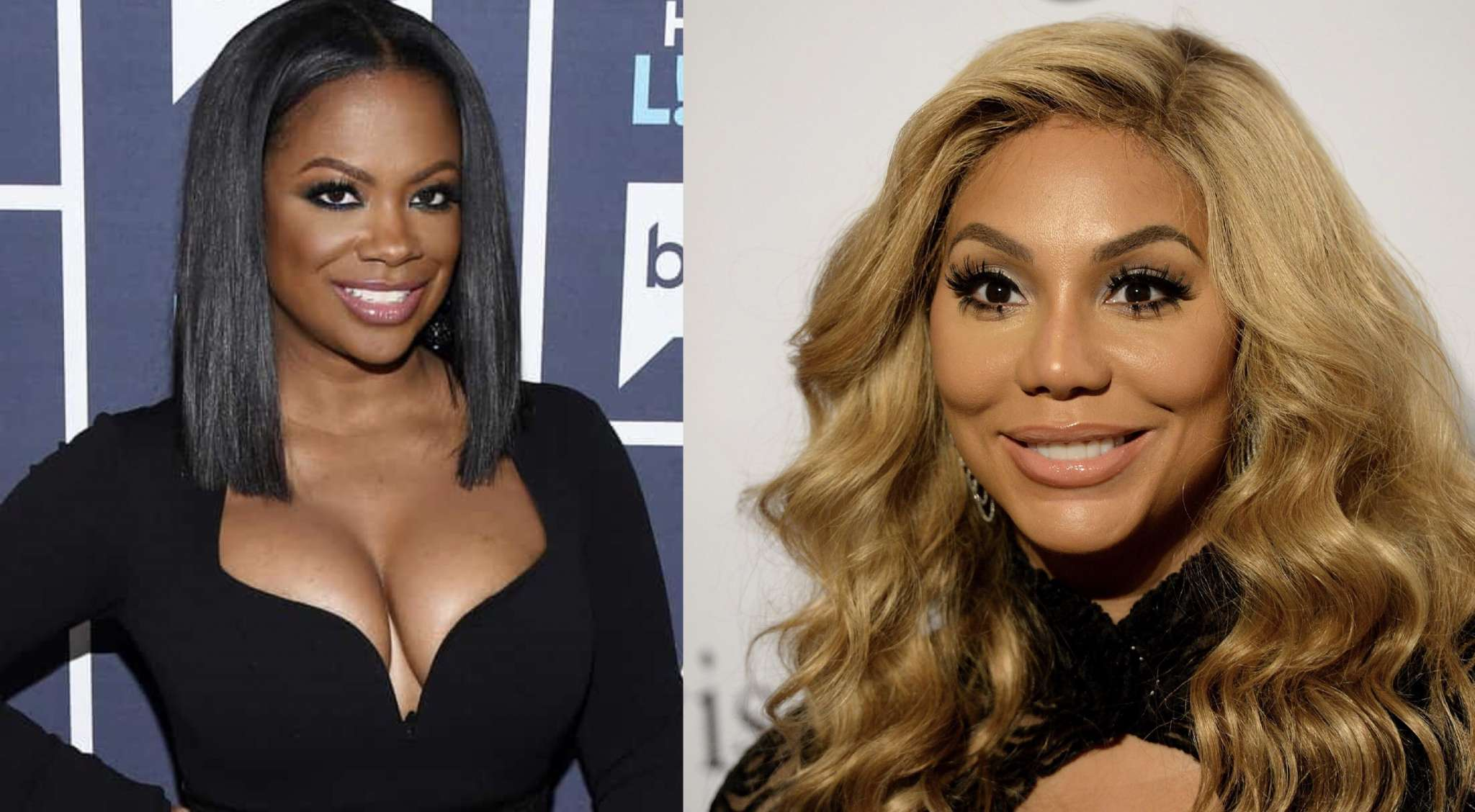 Tamar Braxton Makes Fans Laugh , Checking On Her Summer Body Progress - Kandi Burruss Feels In The Same Situation