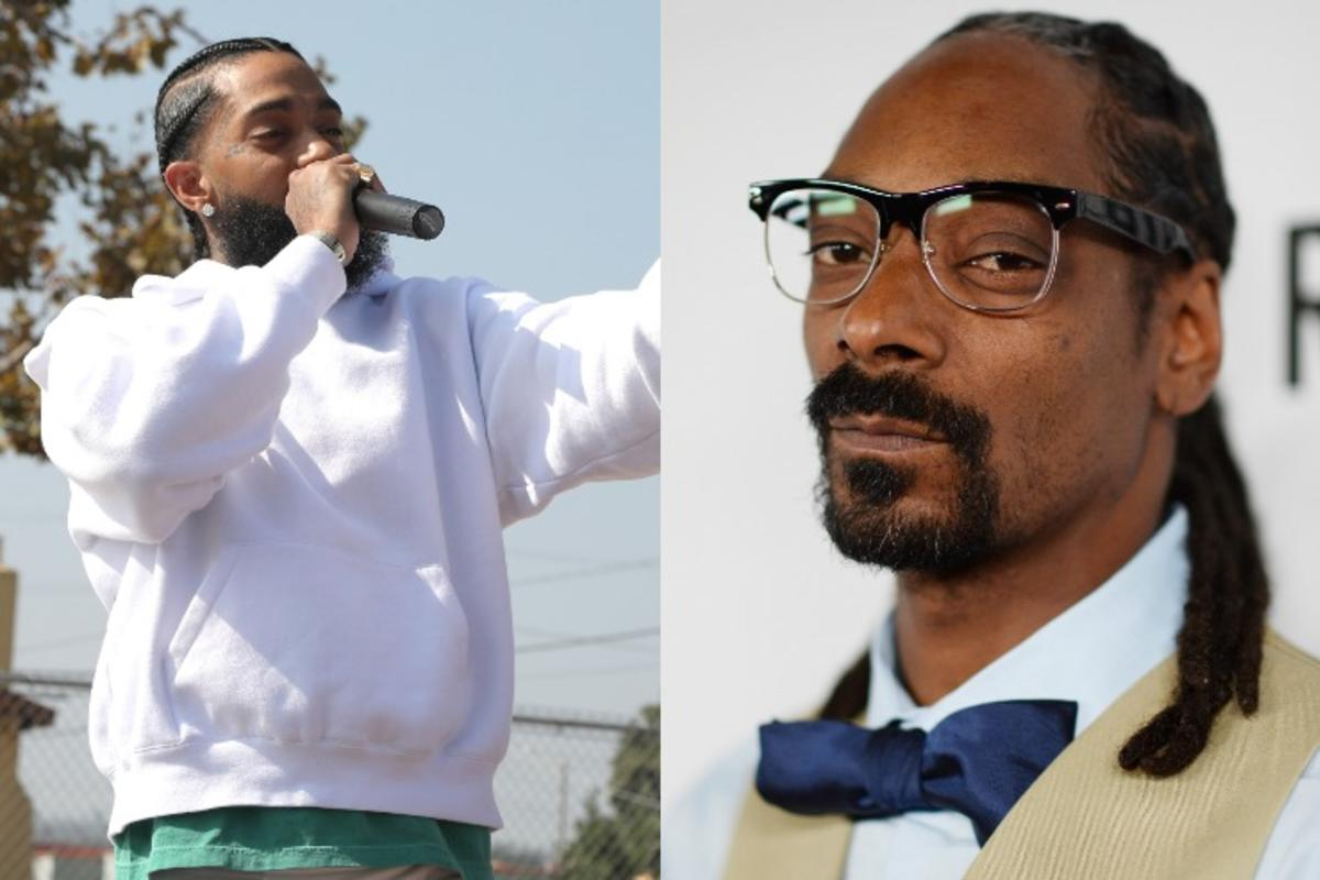 Snoop Dogg Offers His Gratitude To Nipsey Hussle Following The L.A. Gang 'Unity Walk'