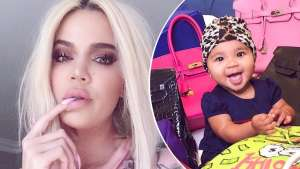 Khloe Kardashian Shows Off Her Beach Body In A Photo With Her Daughter, True Thompson And Fans Criticize Her Pose