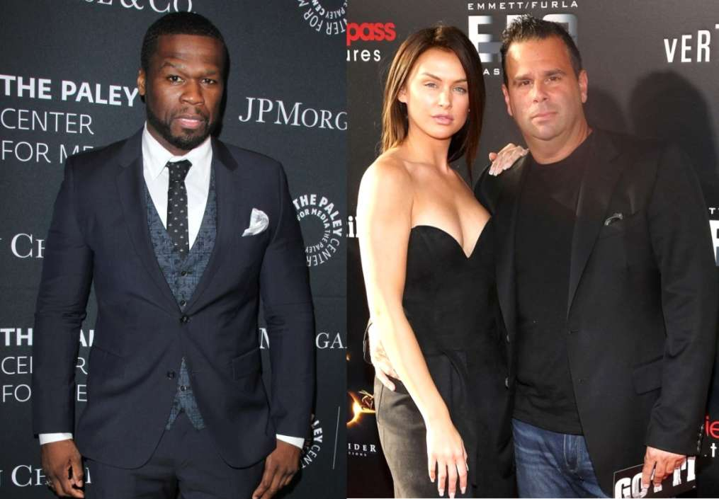 50 Cent And LaLa Kent and Randall Emmett