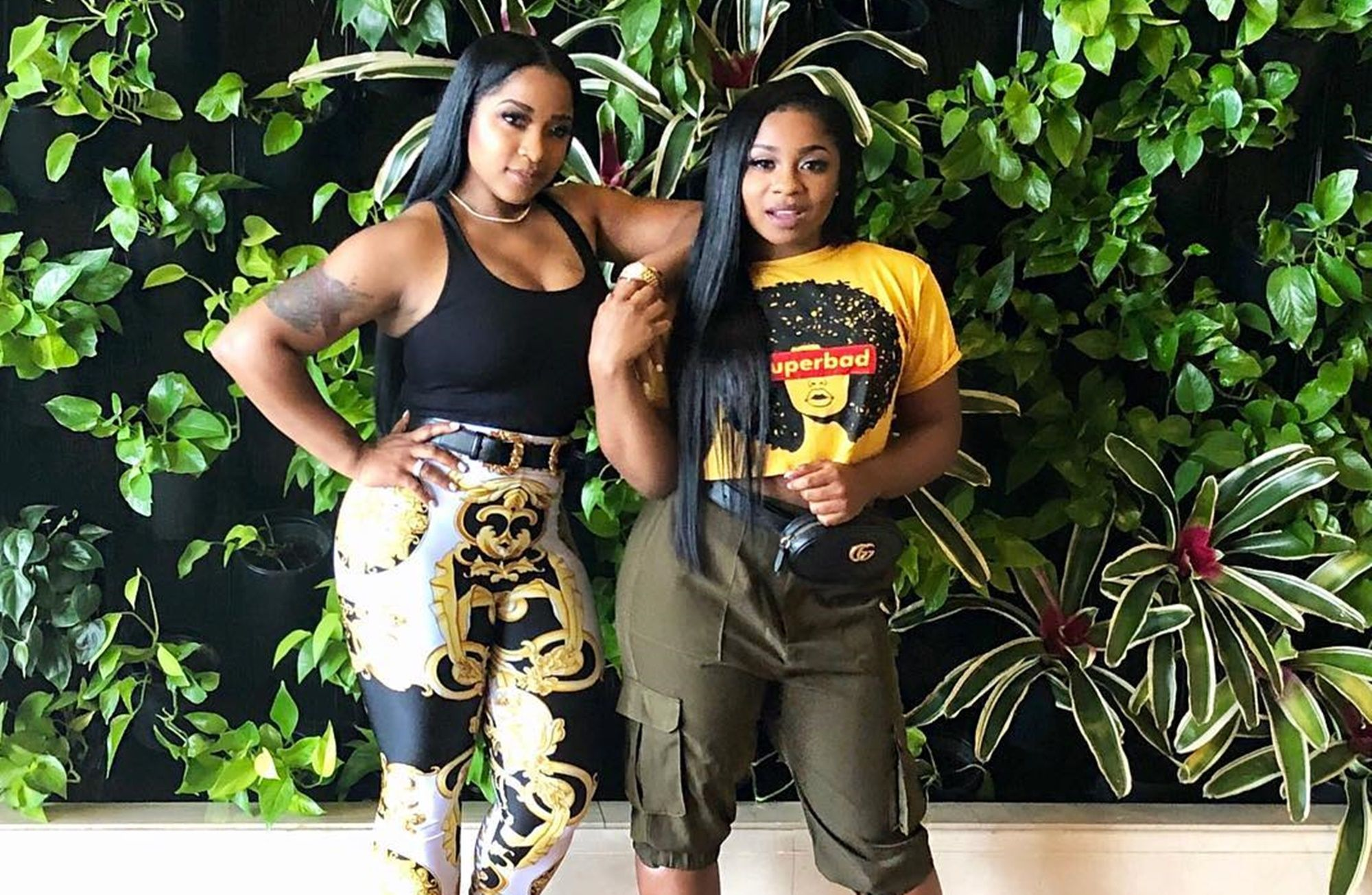 """""""toya-wright-shares-new-pics-with-her-daughters-and-fans-are-in-love-with-reign-rushings-pose"""""""