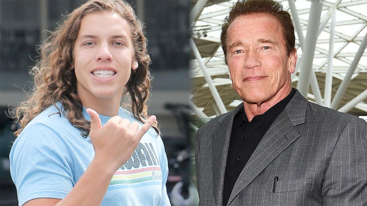 Arnold Schwarzenegger Raves About Look-Alike Son Joseph