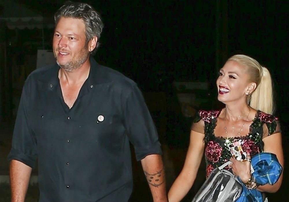 Blake Shelton And Gwen Stefani Look Like They Are Ready To