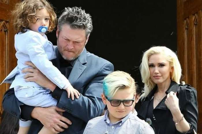 Blake Shelton And Gwen Stefani Spent Easter As One Big Happy Family With Her Boys
