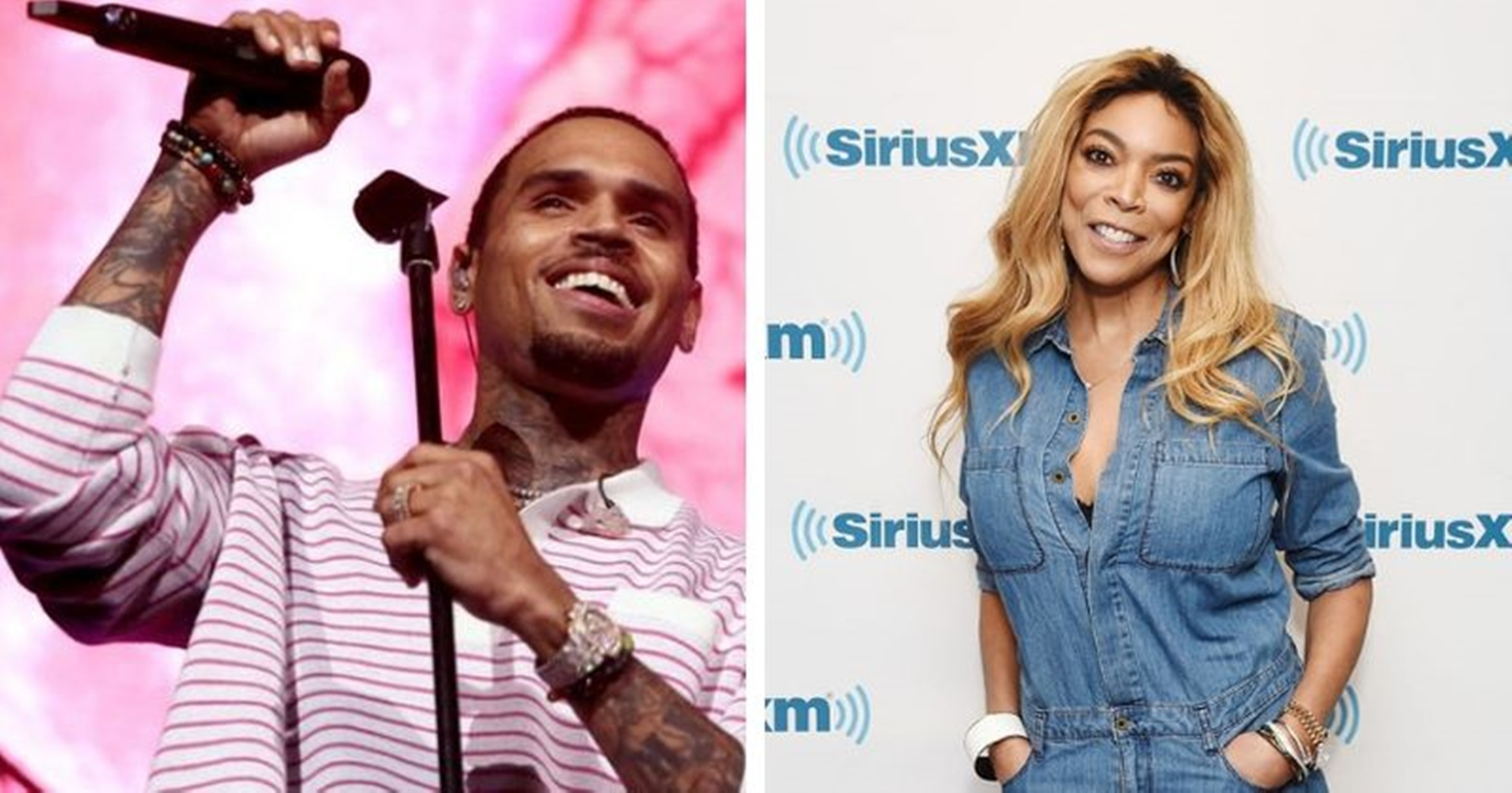 Chris Brown Wendy Williams Nicki Minaj
