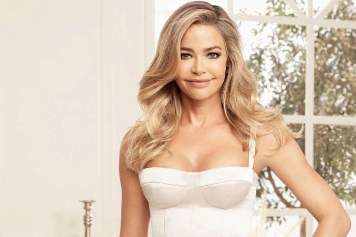 Denise Richards Says Her Daughters Are Banned From Watching Steamy Scene In 'Wild Things'