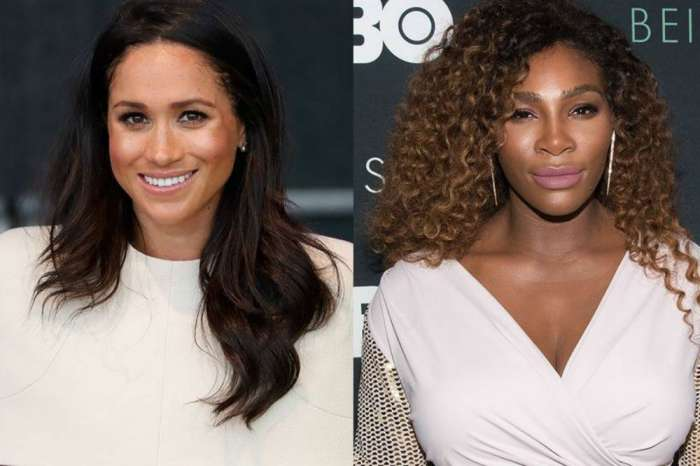 Did Serena Williams Just Reveal That Her Bestie Meghan Markle Is Having A Girl?