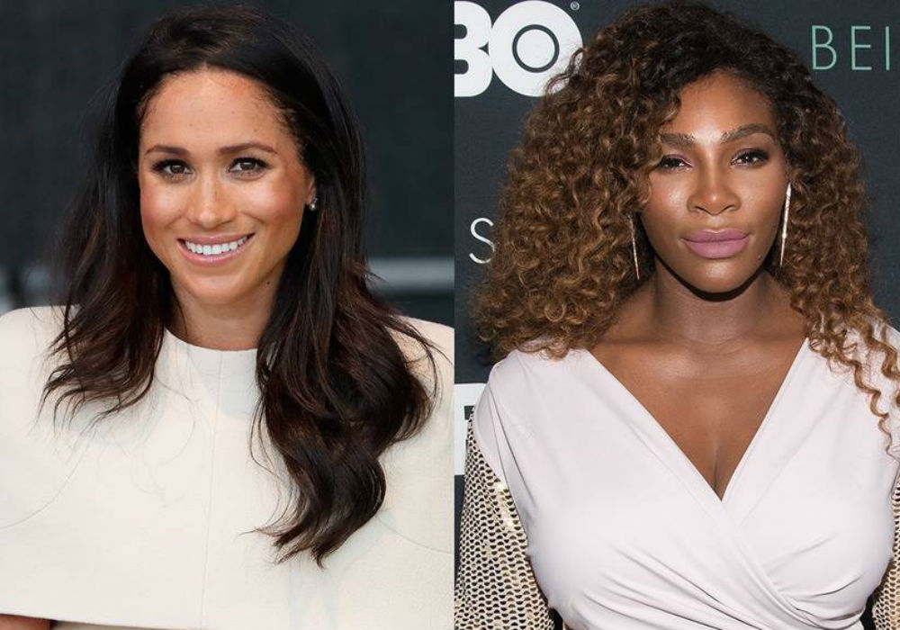 Did Serena Williams Just Reveal That Her Bestie Meghan Markle Is Having A Girl_