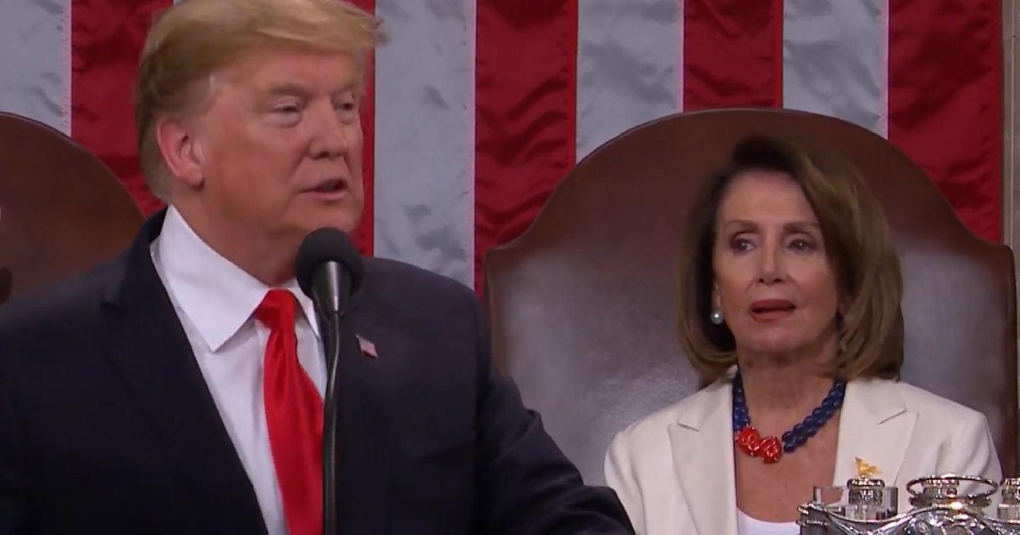 Donald Trump Nancy Pelosi 60 Minutes Interview