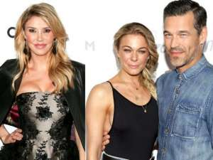 Brandi Glanville Spends Awkward Easter With Ex Eddie Cibrian and LeAnn Rimes – See The Cringeworthy Photo