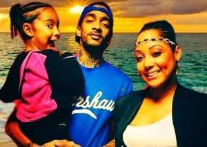 Nipsey Hussle's Ex, Tanisha Asghedom, AKA Chyna Hussle, Blasts Those Who Want Her To Stop Professing Her Love For The Father Of Her Child