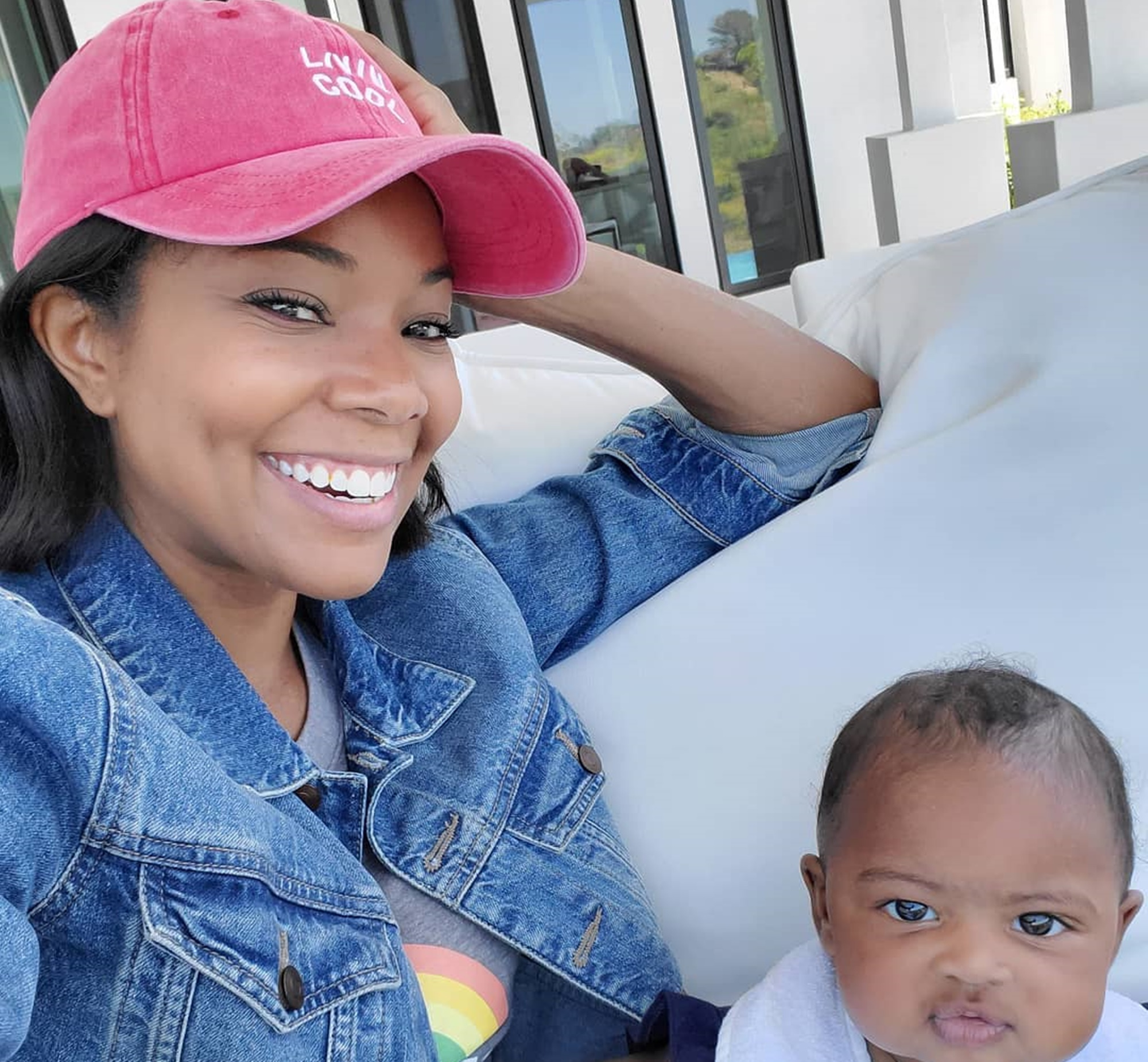 Gabrielle Union Posts A Video Of Baby Daughter Kaavia