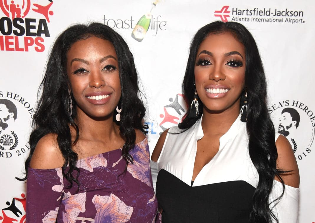 Porsha Williams Has Her Sister, Lauren Williams Model The Jeans From Her Clothing Line - See The Pic With Lauren And Her Daughter, Baleigh