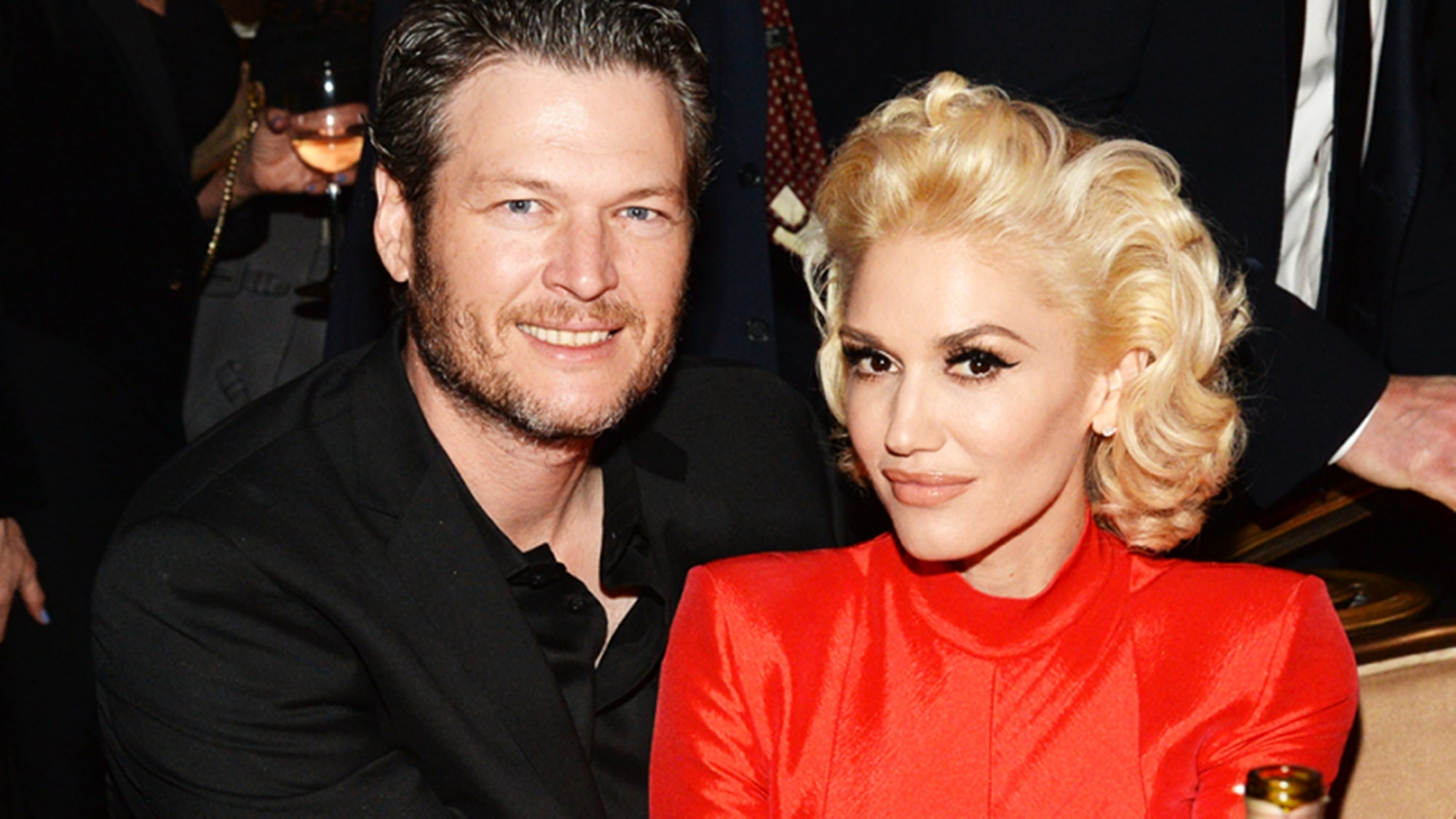 Gwen Stefani Blake Shelton Father Figure For Children