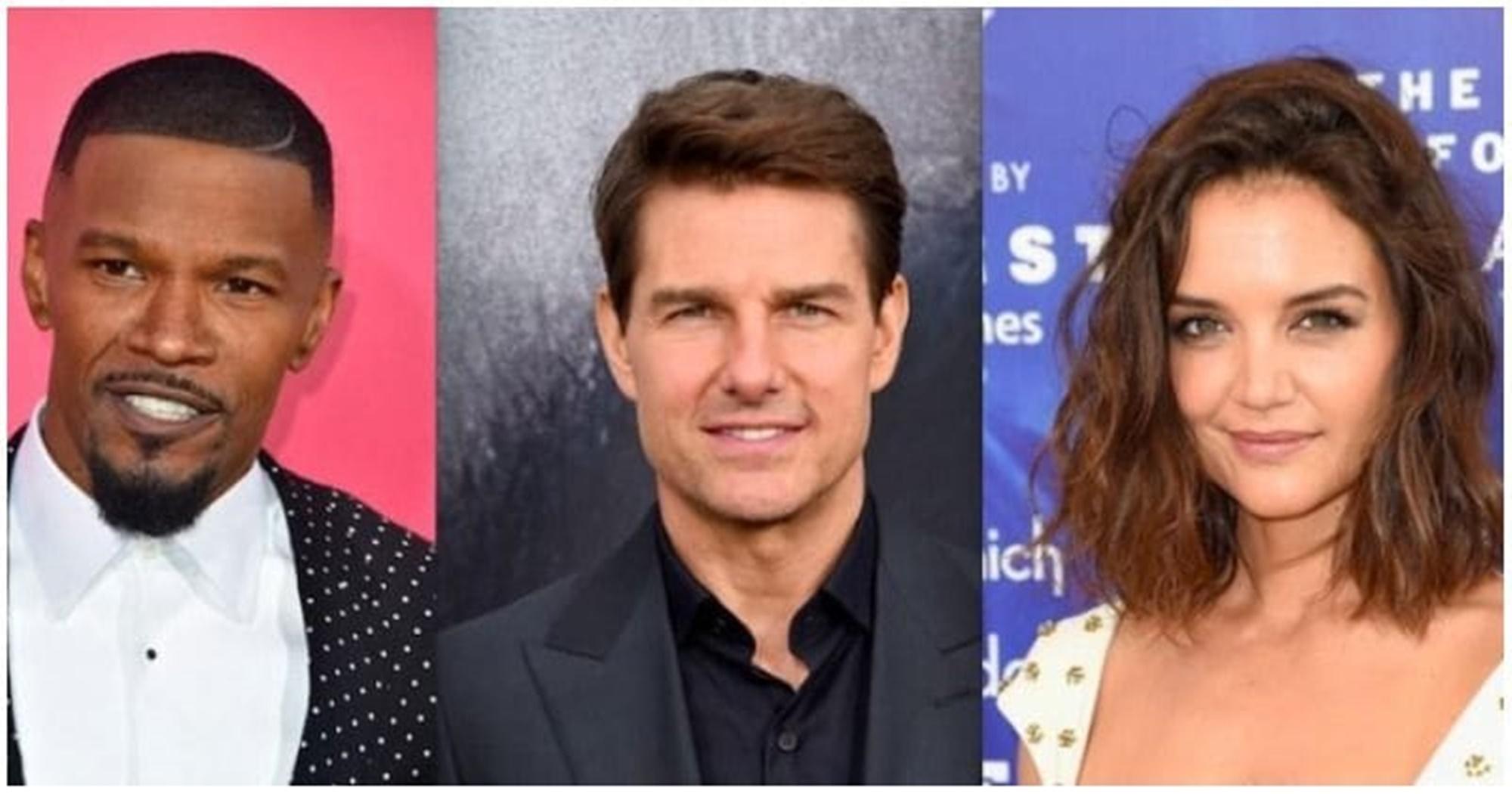Jamie Foxx Tom Cruise Katie Holmes