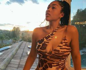 Jordyn Woods Flaunts Her Killer Curves In Racy Bathing Suit -- Confirming Her Return To The Spotlight -- Fans Say Pictures Prove Why Tristan Thompson Was Ready To Risk It All