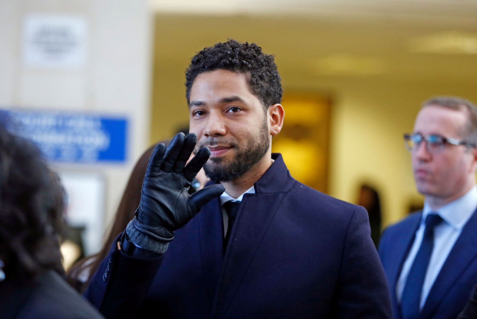 Jussie Smollett Kim Foxx City Of Chicago