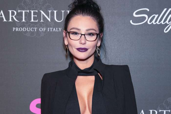 JWoww Is In Love -- Says Her Face Hurts From Smiling So Much