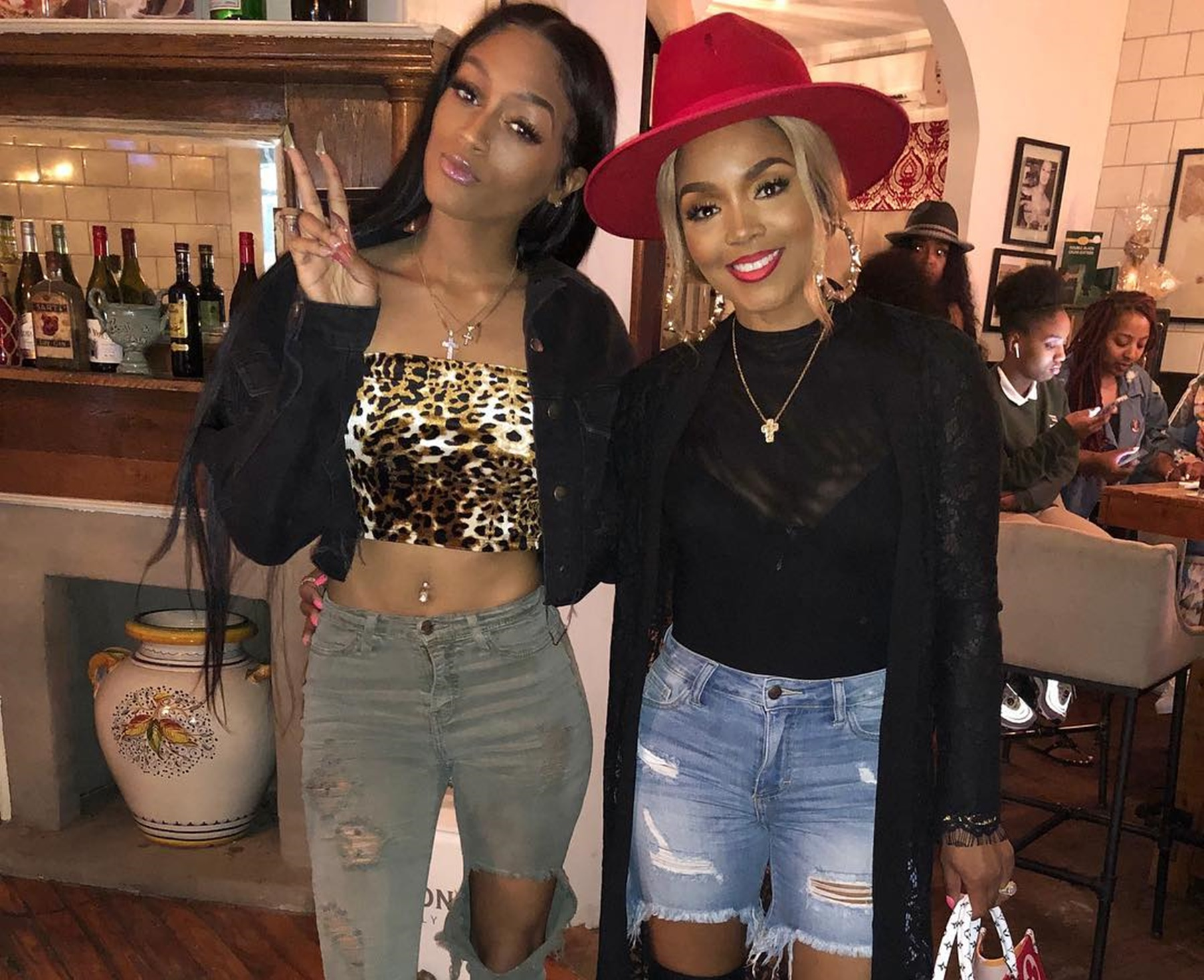 Kelsie Frost Rasheeda Kirk Birthday Party