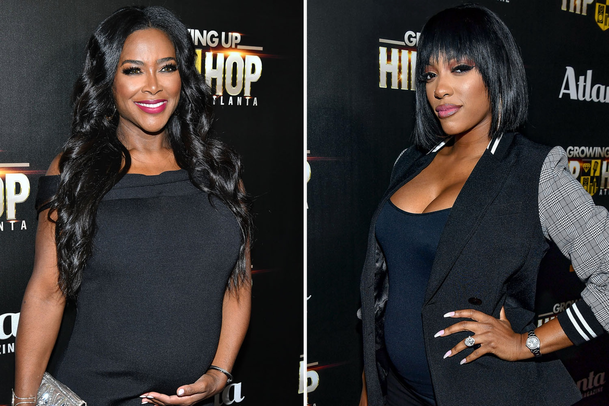 """kenya-moore-and-porsha-williams-share-photos-of-newborn-daughters-with-loving-rhoa-fans"""