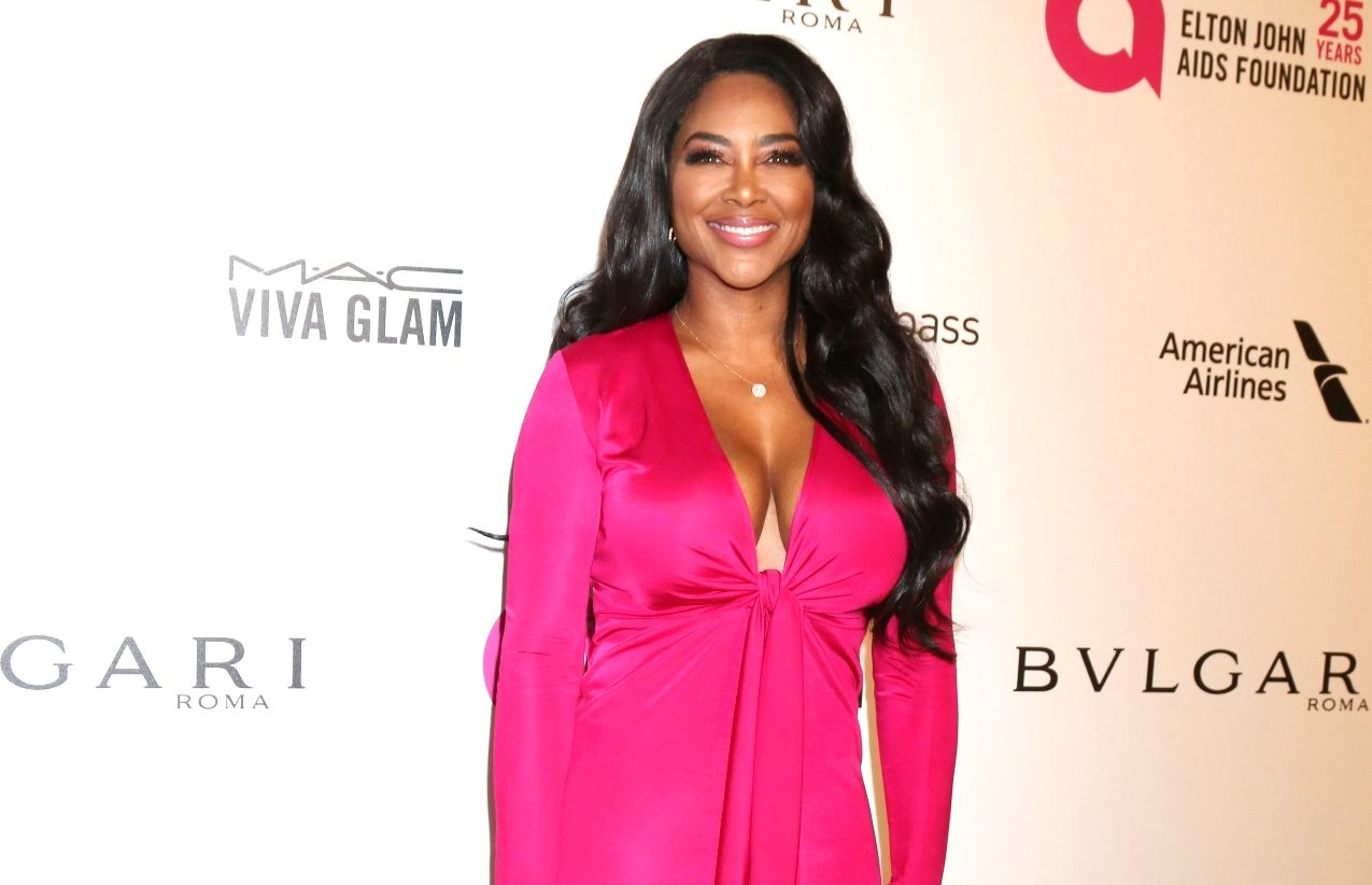 Kenya Moore Is Slaying In A Red Skin Tight Dress, After Making An Appearance On RHOA - Fans Says NeNe Leakes Is Jealous