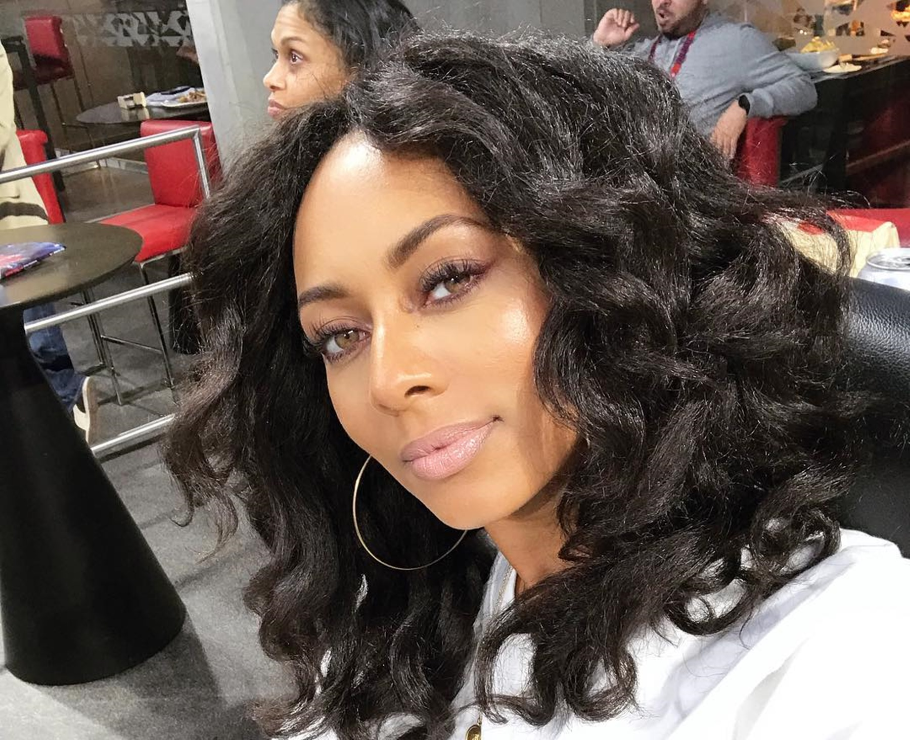 Keri Hilson Goes Make-Up Free In Latest Stunning Pictures — Supporters Believe The Singer Is Gorgeo...