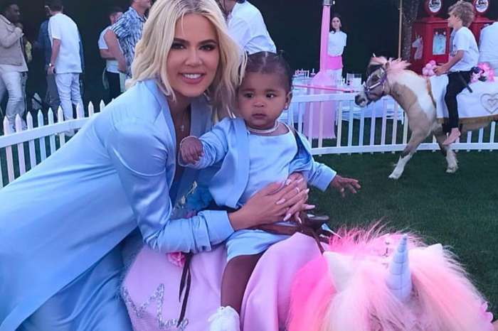 Tristan Thompson Shares Adorable Video Where He Is Celebrating At Baby True's Birthday Party With Khloe Kardashian