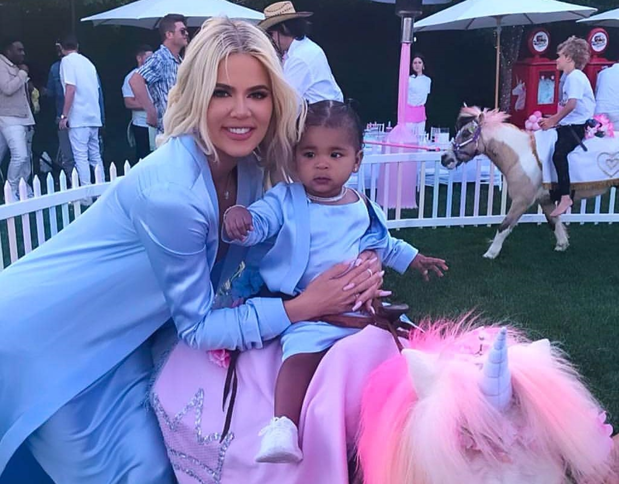 Khloe Kardashian True Thompson Tristan