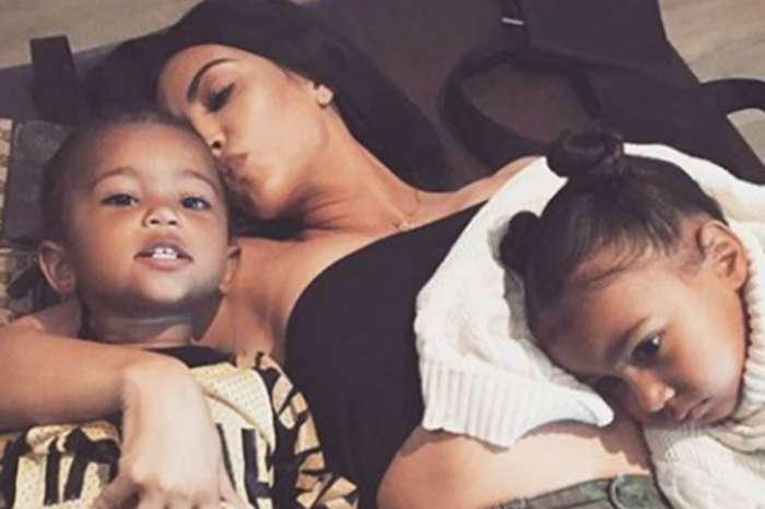 Mama Bear Kim Kardashian Freaks Out When Saint West Has Allergic Reaction Has To Call 911