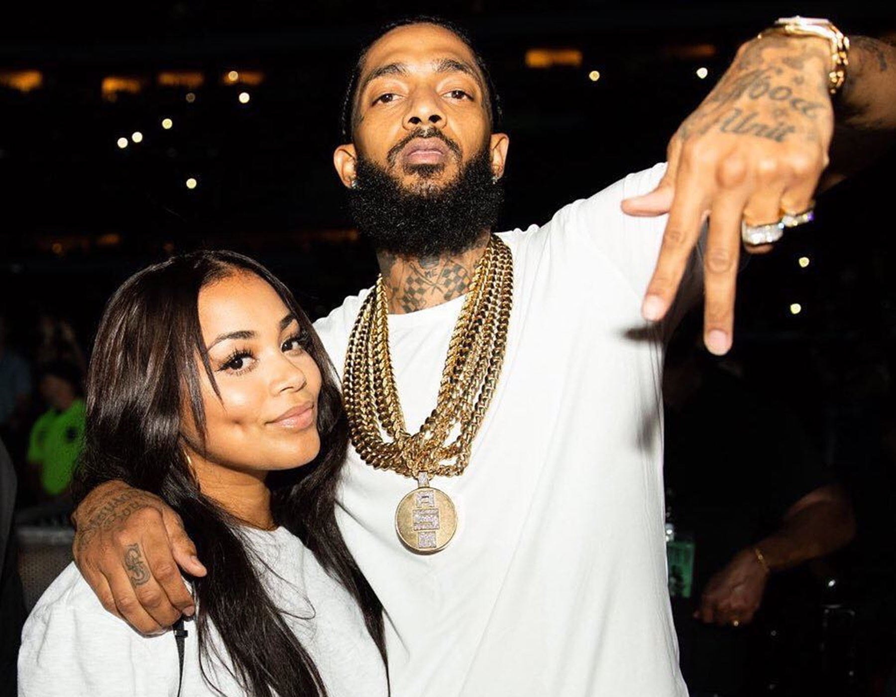 Lauren London Nipsey Hussle Children