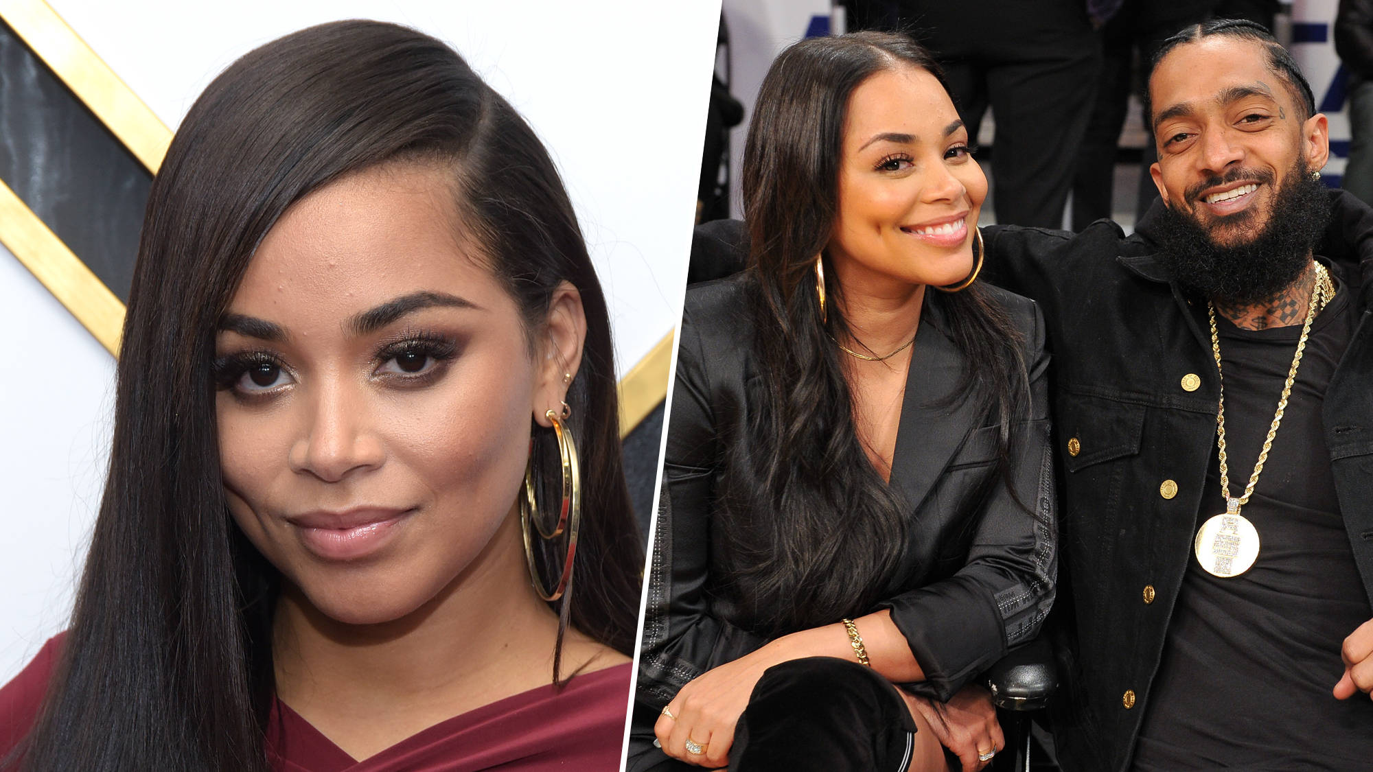 Lauren London Nipsey Hussle Easter