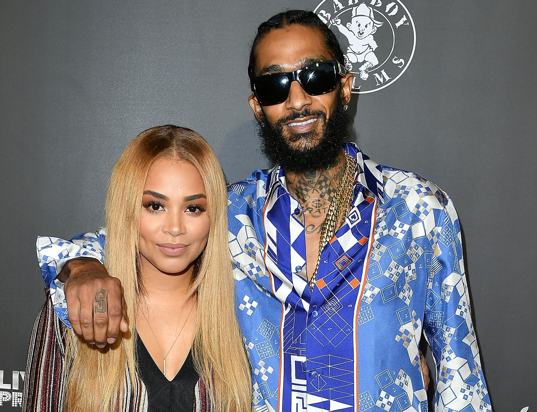 Lauren London's Ex-Boyfriend Lil Wayne Shows Nipsey Hussle