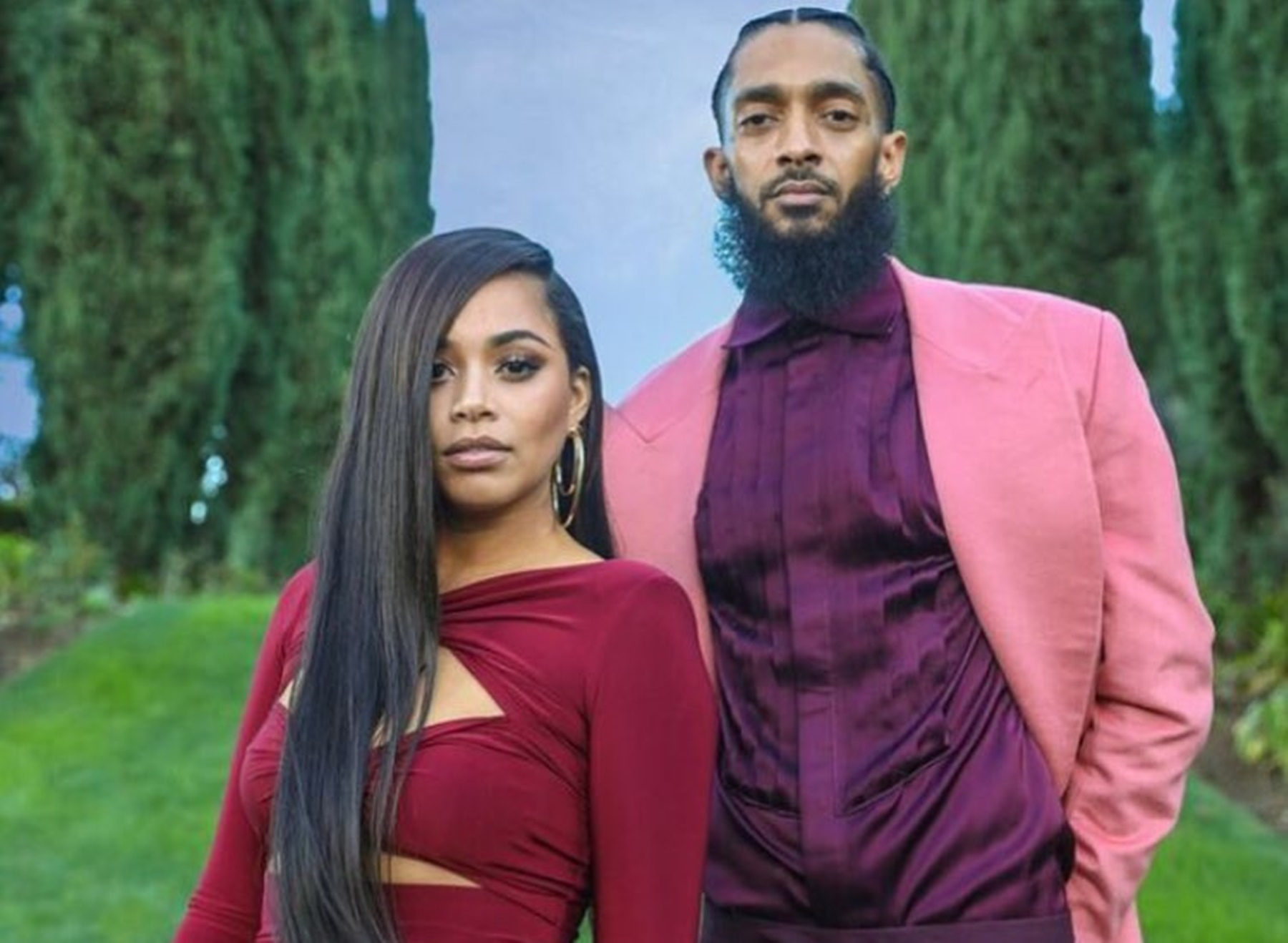 Lauren London Nipsey Hussle Memorial