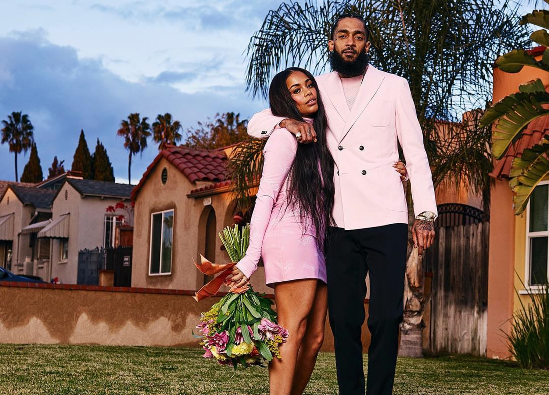 Lauren London Nipsey Hussle Message
