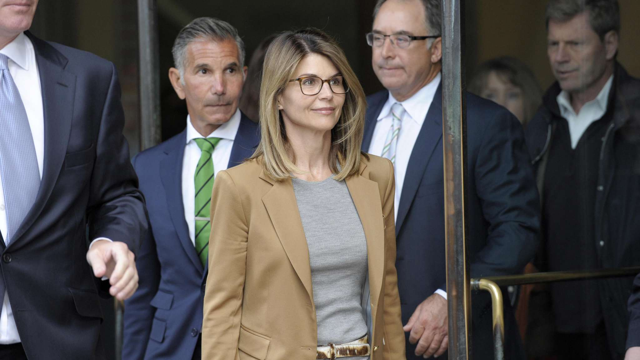 Lori Loughlin is very anxious  a guilty plea will affect her daughters